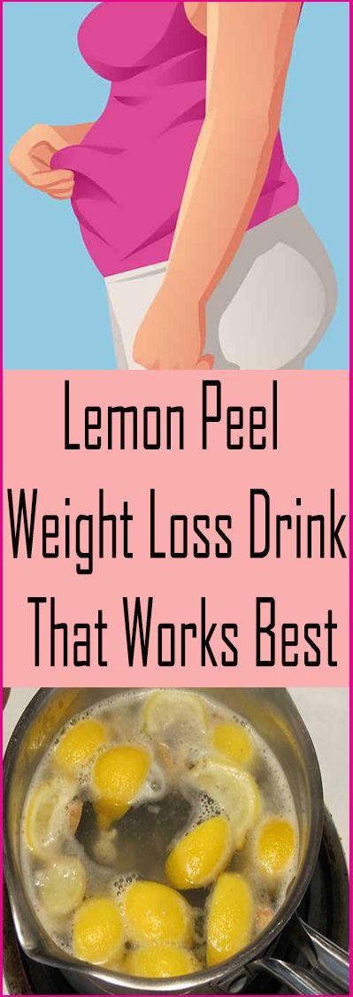 Lemon Peel Weight Loss Drink – That Works Best – Let's Tallk
