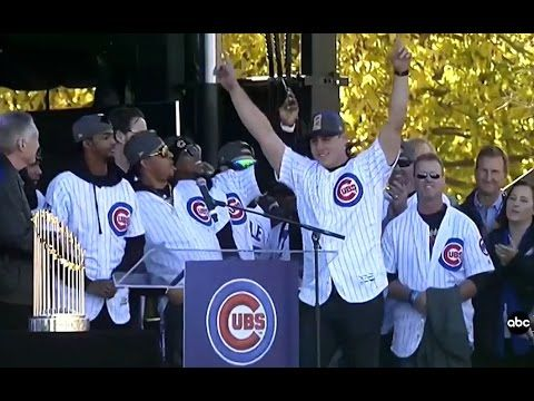 Bill Murray Returns to SNL For a Rendition of 'Go Cubs Go' With the Champs Themselves - YouTube