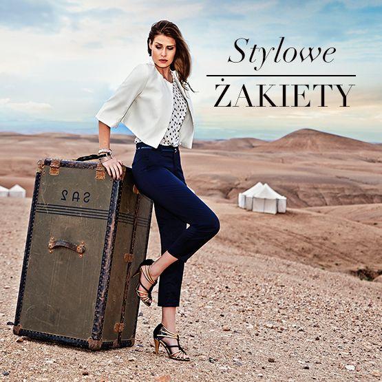 Wybierz stylowe żakiety na http://quiosque.pl/ #zakiety #styl #qsq #quiosque #banner