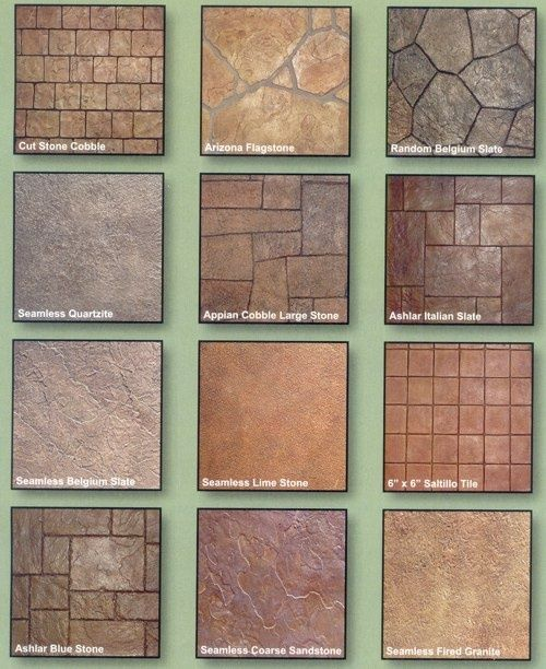 37 best Stamped Colored Concrete images on Pinterest