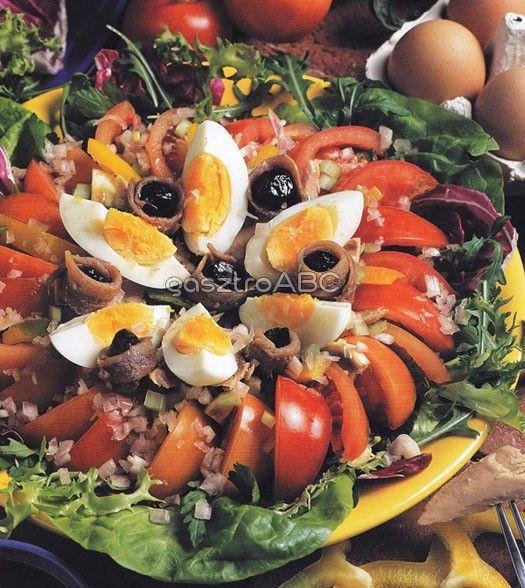 Nizzai saláta | Receptek | gasztroABC
