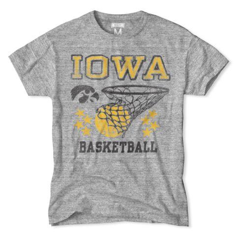 Iowa Hawkeyes Basketball Net Tee
