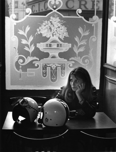 Robert Doisneau. Fleurs de bistrot, Paris 1971 ~Via Maggie Wilson