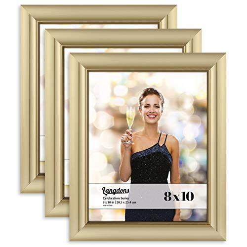 Langdons 8x10 Picture Frame 3 Pack Gold Gold Photo Fr Https Www Amazon Com Dp B07dj8m3wt Ref Cm Sw R Pi Dp 8x10 Picture Frames Frame Gold Photo Frames