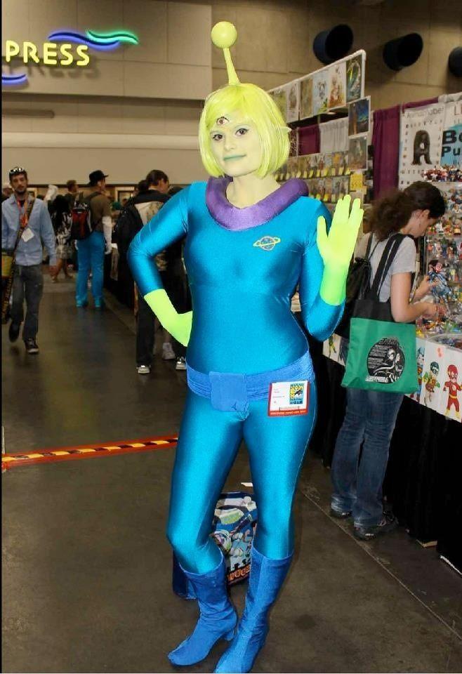 cosplay Alien girl