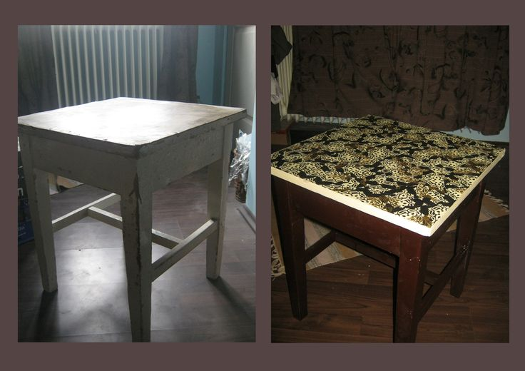 Second life of an old furniture.