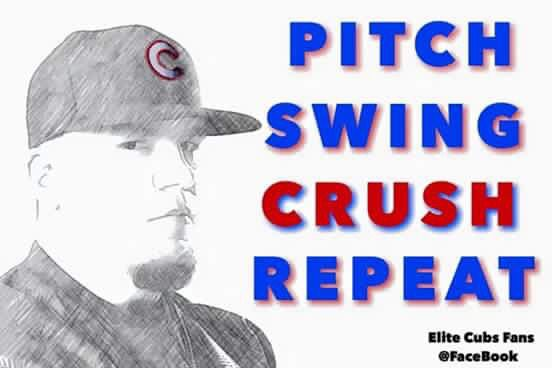 Pitch Swing Crush Repeat - Kyle Schwarber