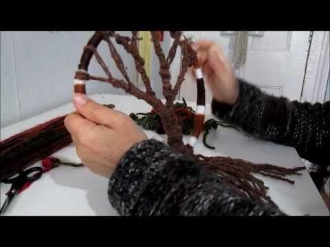 Arbol Decorativo en una argolla - YouTube