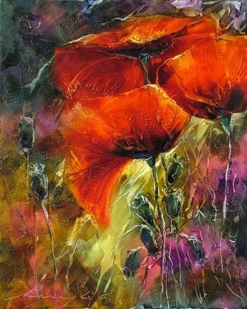 "Andras Manajlo ""Glow of poppies"""