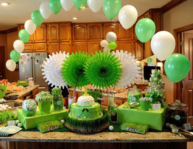 GOLF PARTY!! My husband would LOVE this