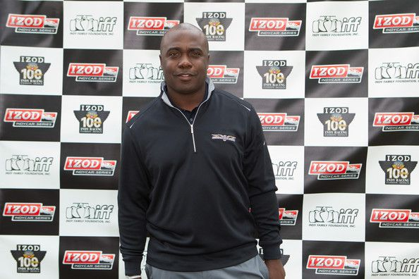 Marshall Faulk Marshall Faulk arrives at the IZOD Celebrity Invitational golf tournament on May 28, 2011 in Indianapolis, Indiana.