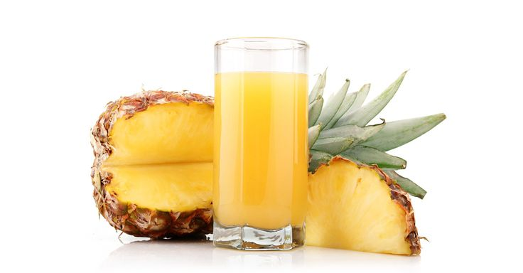 Pineapples contain bromelain, an enzyme with anti-inflammatory properties. It fights infections and kills bacteria. The juice from fresh pineapples can suppress coughs five times more effectively than cough syrup.  One cup of pineapple juice contains nearly 50% of the daily requirement for vitamin C intake. This helpful nutrient works