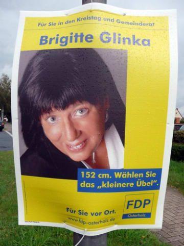 25 Wahlplakate, über die garantiert keine 5 Minuten nachgedacht wurde