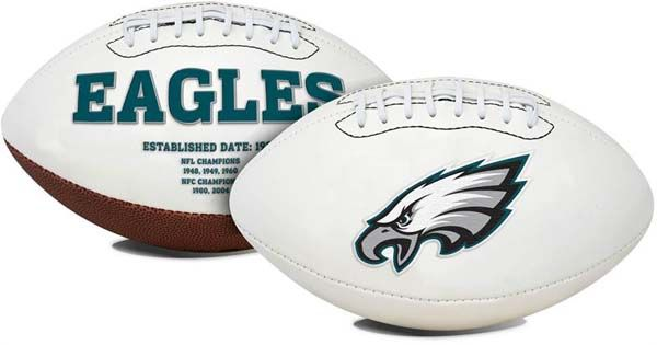 Philadelphia Eagles Signature Series Full Size Football: This classic NFL Philadelphia Eagles football… #Sport #Football #Rugby #IceHockey