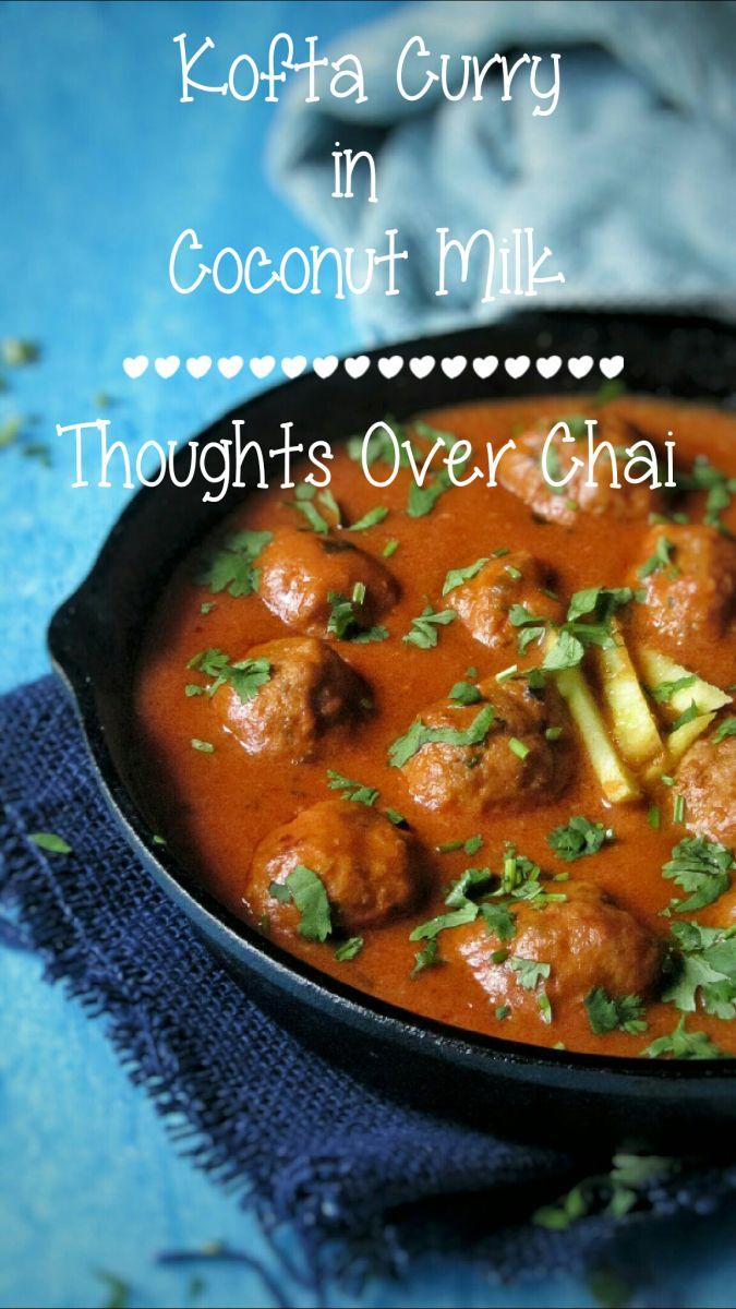 Kofta Curry In Coconut Milk
