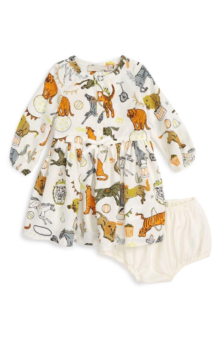 Stella McCartney Kids 'Fleur Circus Print' Dress (Baby Girls) available at #Nordstrom