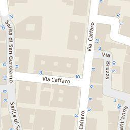 Mappa di Genova - CAP 16121:16167, stradario e cartina geografica | Tuttocittà