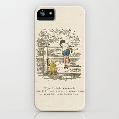 Winnie the Pooh & Friends iPhone & iPod Case by Zeke Tucker - $35.00