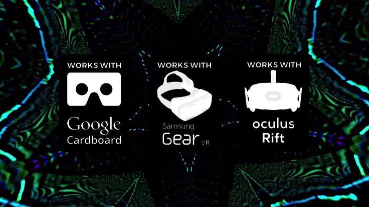 TRIP MACHINE VR v0.1 | 4K 360° Psychedelic Experience