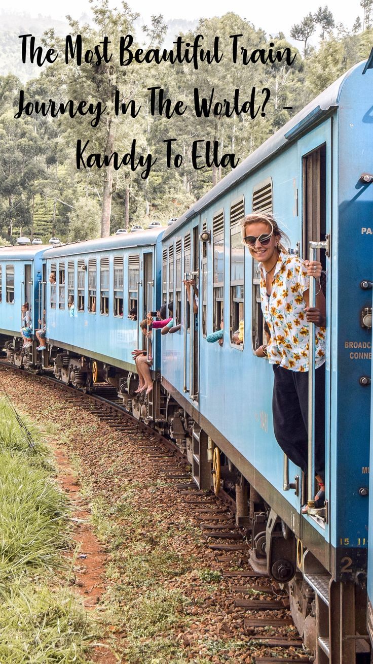 The Most Beautiful Train Journey In The World? – Kandy To Ella