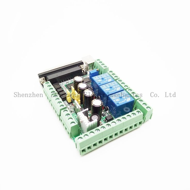 (29.51$)  Watch now  - 4 Axis CNC MACH3 Breakout Board Adapter Interface for Stepper Motor Driver