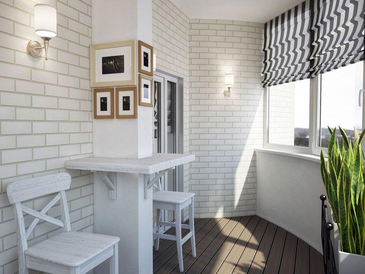балкон в стиле лофт - Поиск в Google