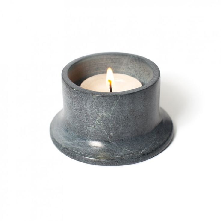 Soap Stone Candle Holder | Lightly