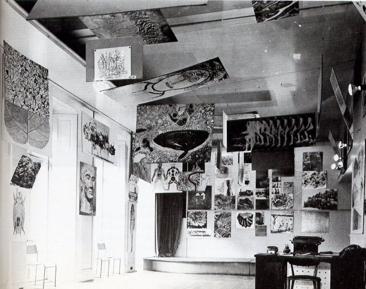 1953, parallel of life and art