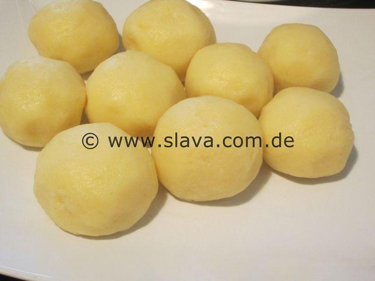 Kartoffelknödel - Klöße - Butterweich