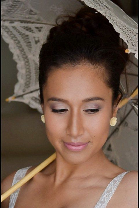 Wedding Makeup In Adelaide From Professionals Bridal Hair And Asian Pink Purple Eyeshadow Updo