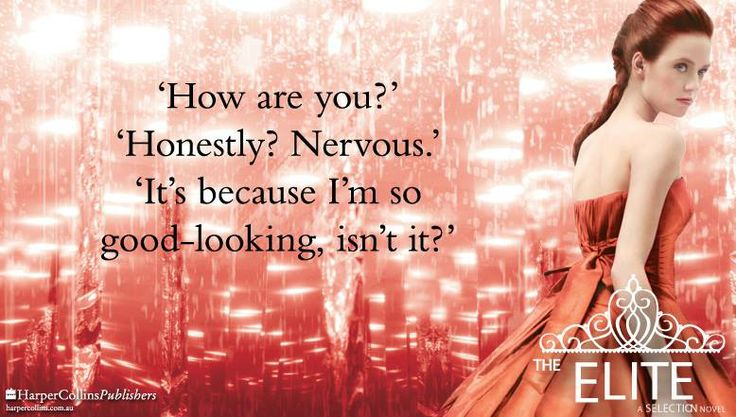 Quote from THE ELITE by Kiera Cass