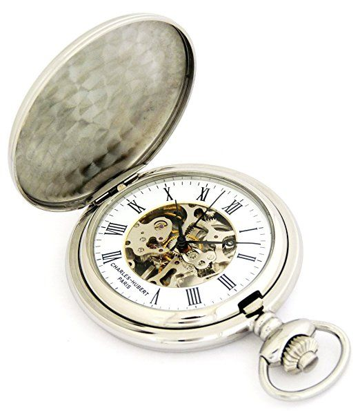 Amazon.com: Charles-Hubert, Paris Mechanical Pocket Watch Polished Chrome Plated Steel - Exclusive!: Watches    Ladies Pocket Watch  Brass Pocket Watch  Gold Pocket Watch Chain  Silver Pocket Watch Chain  Vintage Pocket Watches For Sale  Train Pocket Watch  Military Pocket Watch  Old Pocket Watches For Sale  Antique Silver Pocket Watch  Antique Gold Pocket Watch  Antique Pocket Watches Value  Womens Pocket Watch  Unique Pocket Watches  Open Face Pocket Watch