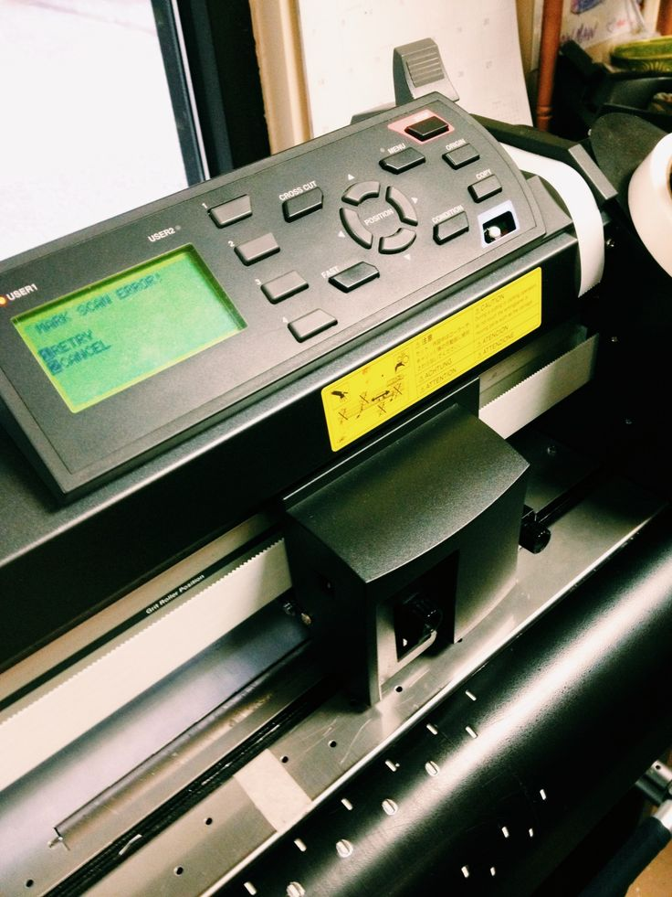 This close-up of one of our digital printers gives you an idea of the advanced technology that goes into these expensive machines. Customization and productivity is at an ultimate high with these machines.