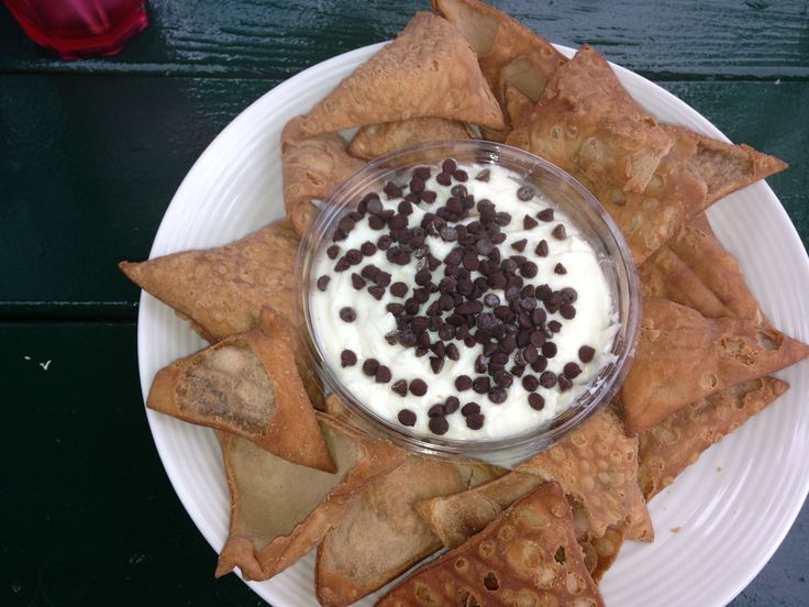 Cannoli chips and dip available at Iavarone Brothers. www.ibfoods.com