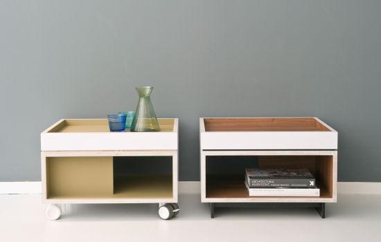 Coepijn ontwerpt en produceert meubels.