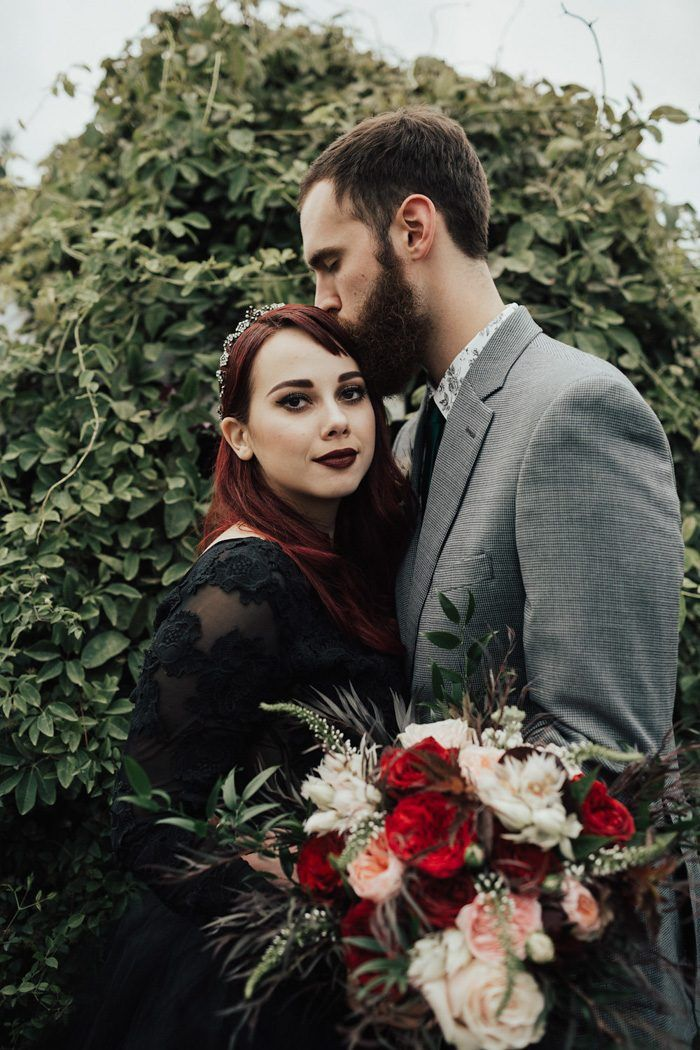 Dark Romance Never Looked Better Than in This Christianson's Nursery Wedding