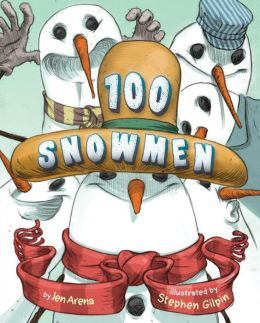 100 Snowmen by Jen Arena ~ Read Alouds for the 100th Day of School | This Reading Mama