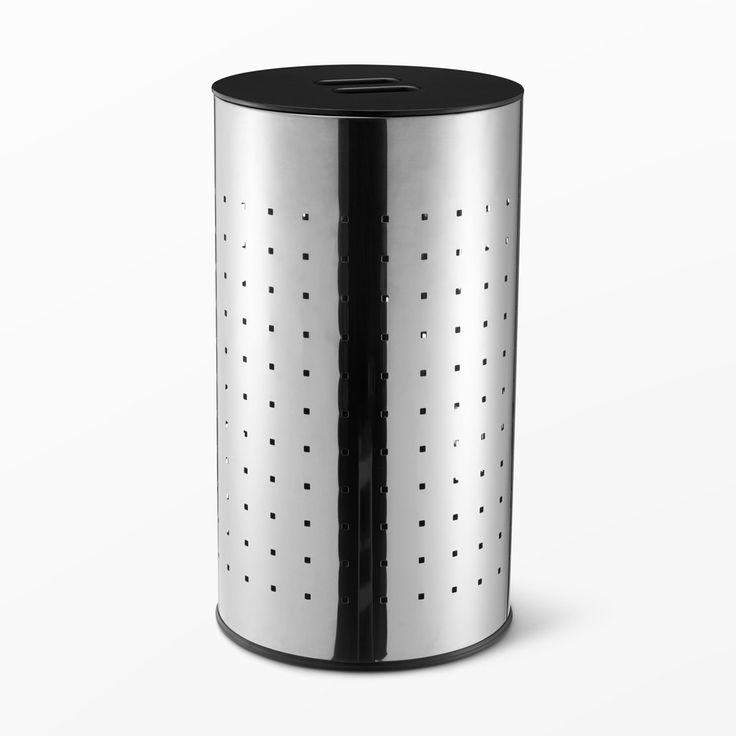 Tvättkorg i rostfritt stål - Förvaring- åhlens.se - shoppa online!