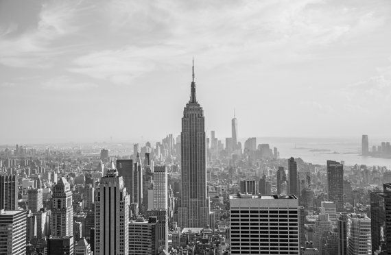 New York City from above by ThatPhoto on Etsy