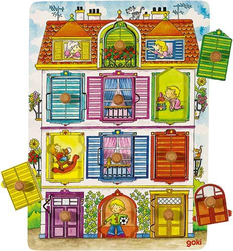 Puzzle s úchytkami Moja vila - http://www.maxus.sk/detsky-sen/hry-a-puzzle/puzzle/puzzle-pre-najmensich/puzzle-s-uchytkami-moja-vila.html
