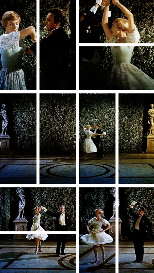 The Sound of Music -- always loved this beautiful dance scene