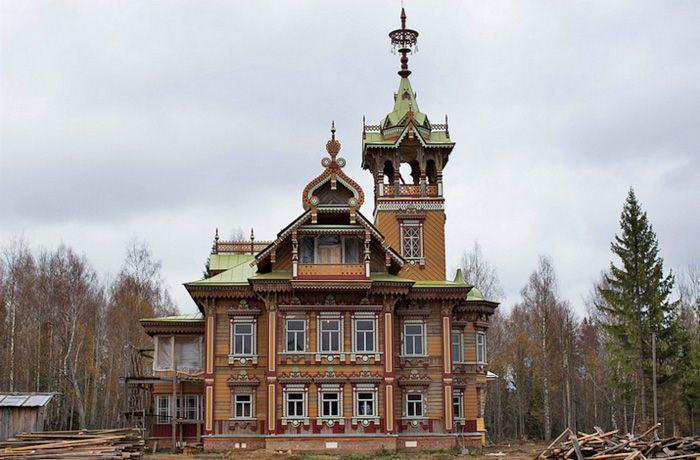Дом Сазонова, отреставрированный в 2016 году.   Фото: prousadbi.ru.