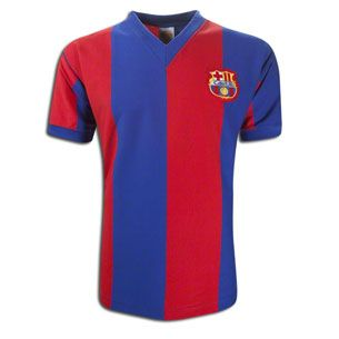 FC Barcelona 1970s Retro Home Shirt