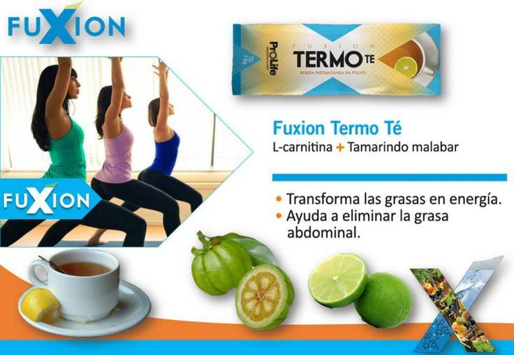 TERMO TE: L-carnitina + Tamarindo malabar Tranformar la grasa en energía es tan sólo uno de sus tantos beneficios.