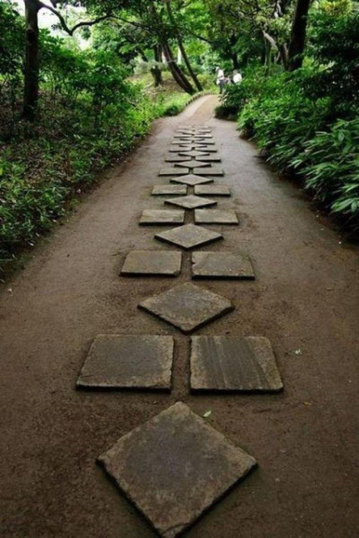 30 the best garden stepping stone stone garden paths