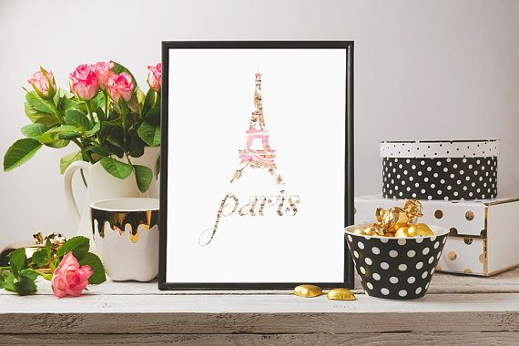 Paris Prints Digital Download Printable Paris Paris Poster