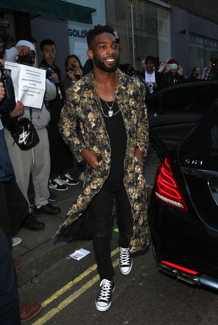 How Tinie Tempah Brought His Coat Game to the London Front Row