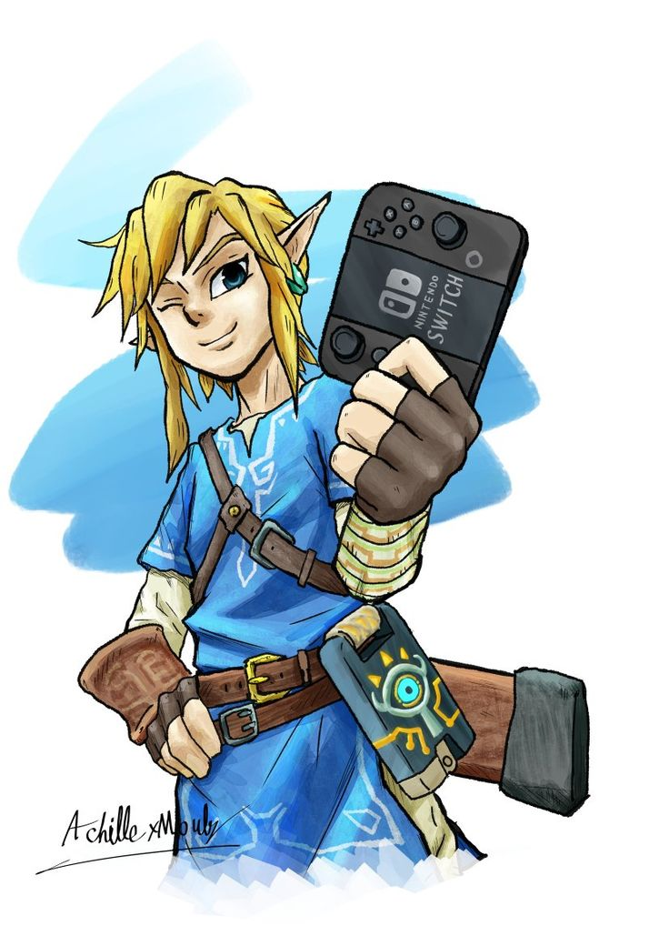 Breath of the Wild on Nintendo SWITCH!