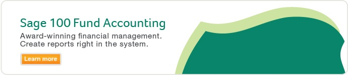Sage MIP Fund Accounting is now Sage 100 Fund Accounting.