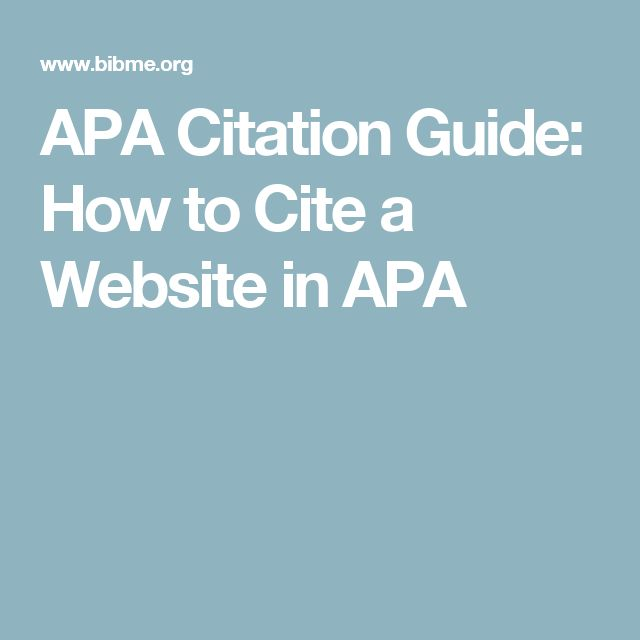 Citing A Quote Apa: 1000+ Ideas About Apa Example On Pinterest